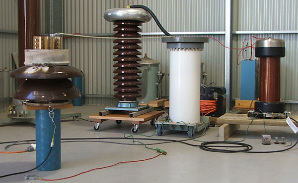 High voltage withstand measurements
