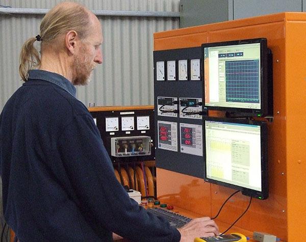 Motor MEPS check-testing rig