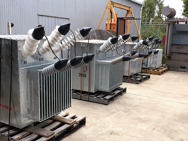 Distribution transformers for MEPS testing